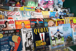 There's an endless number of publications to choose from. Working with an agency can help narrow down which magazines will work best for you.